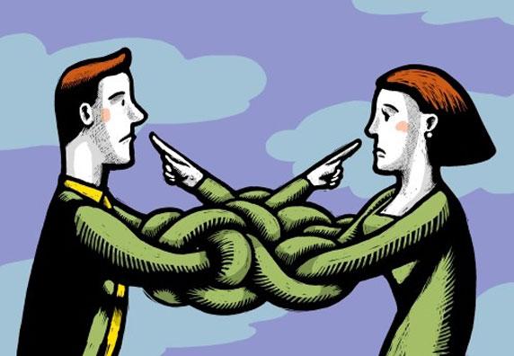 Um casal em conflito
