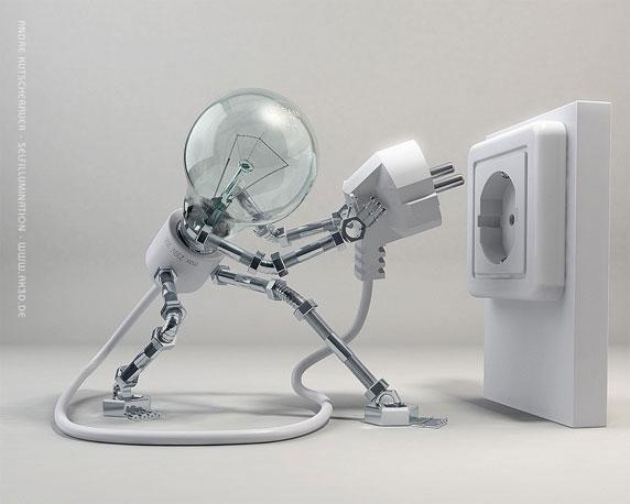 Selfillumination, by André Kutscherauer
