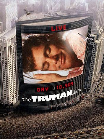 Poster do filme The Truman Show (O Show de Truman)